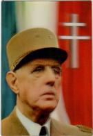 61lk 1521 Charles De Gaulle - Stereoscopic Photo      (DIMENSIONS 10 X 15 CM) - Stereoscopische Kaarten