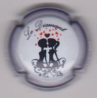 Capsule Champagne DAVID-HEUCQ Henri ( Nr ; Cuvée LE DIAMANT ) {S07-20} - Champagne