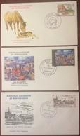 NC01 Nouvelle Calédonie Et Dépendances S.E.C.C. 415 Vieux Nouméa PA182 PA183 FDCPremier Jour 1977 Lot 3 Lettre - FDC