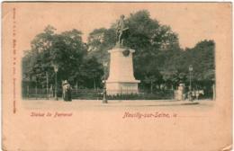 6ZTH 137 CPA - NEUILLY SUE SEINE - STATUE DE PERRONET - Neuilly Sur Seine