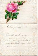 LETTRE ADRESSEE CHERS PARENTS EN 1903 - Manuscrits