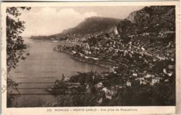 61kf 830 CPA - MONACO - VUE PRISE DE ROQUEBRUNE - Multi-vues, Vues Panoramiques