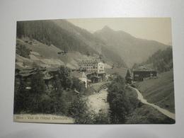 Suisse. Binn, Vue De L'hotel Ofenhorn (8369) - VS Valais