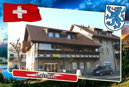 Postcard, REPRODUCTION, Municipalities Of Switzerland, Lotzwil - Landkaarten