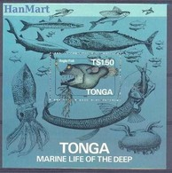 Tonga 1985 Mi Bl 6 MNH ( ZS7 TNGbl6 ) - Peces