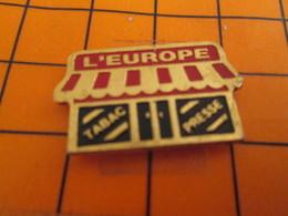 2419 Pin's Pins / Beau Et Rare / THEME  MARQUES / BAR TABAC PRESSE L'EUROPE - Marques