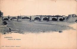 Espagne - Zaragoza - Puente De Piedra - Hauser Y Menet N° 1191 - Zaragoza