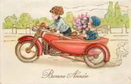 Fantaisie - Un Side-car En Balade - Motos