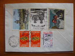 Réunion : Lettre Recommandée Affranchie Avec Maury N° 1494, 1715 X 2, 1845, 1984 Et 1988 De Paris Pour St Pierre (1978) - Reunion Island (1852-1975)