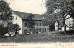 Suisse - Gruss Aus Bad Lauterbach ( Station Aarburg ) - AG Argovia