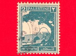PALESTINA - Usato - 1927 - Tomba Di Rachele - 2 - Palestina