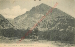 20.  VIZZAVONA .  Monte Doro Pris Du Fort (avec Corse Sur Son âne) . - Francia