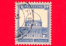 PALESTINA - Usato - 1927 - Moschea - Dome Of The Rock, Jerusalem - 13 - Palestina