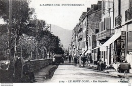 63 - Mont-Dore - Rue Meynadier - Le Mont Dore