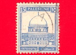PALESTINA - Usato - 1932 - Moschea - Dome Of The Rock, Jerusalem - 15 - Palestina
