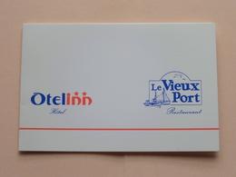 OTELINN Hotel - Le VIEUX PORT Restaurant >> HONFLEUR ( Zie / Voir Photo ) ! - Visiting Cards