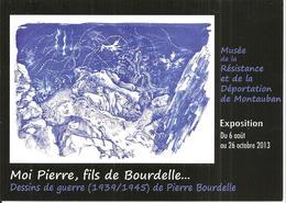 [82] Tarn Et Garonne Montauban Musee De La Resistance Dessins De Pierre Bourdelle - Montauban