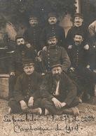 Groupe De Soldats (avec Clairon) à Identifier - Les Pas Bileux De La 27e Du 222e - Campagne De 1914 - Postcards