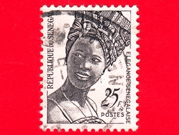 SENEGAL -  Usato - 1972 - Eleganza Senegalese - Acconciatura - Elegance - Fashion - 25 - Senegal (1960-...)