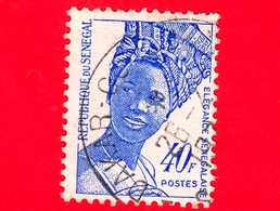 SENEGAL -  Usato - 1972 - Eleganza Senegalese - Acconciatura - Elegance - Fashion - 40 - Senegal (1960-...)