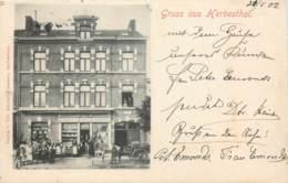 Belgique - Lontzen - Herbesthal - Gruss Aus Herbesthal - Backerei Und Brauerei - Petit Pli - Lontzen