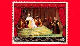 SENEGAL -  Usato - 1972 - Giornata Internazionale Del Teatro - Il Mercante Di Venezia - 40 - Senegal (1960-...)