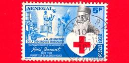 SENEGAL -  Usato - 1978 - Croce Rossa - 150 Anni Della Nascita Di Henri Dunant - 5 - Senegal (1960-...)