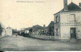 N°3260 T -cpa Port Brillet -rue De La Gare- - Francia