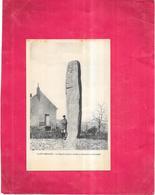 SAINT MICAUD - 71 - Le MENHIR - Un Seul Homme Adossé - VAE - - France