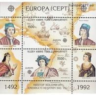 Cyprus (Turkey) 1992, CEPT (MNH, **) - Europa-CEPT