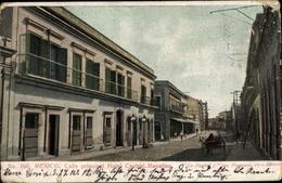 Cp Mazatlan Mexiko, Calle Principal, Hotel Central - Messico