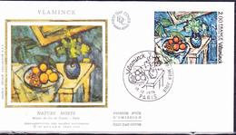 Frankreich France - Stilleben; Von Maurice De Vlaminck (MiNr: 2005) 1976 - FDC - 1970-1979