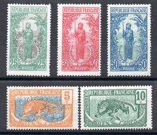 CONGO - YT N° 67 à 71 - Neufs * - MH - Cote: 11,50 € - Nuovi