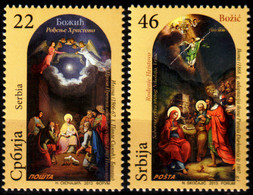 Serbia, 2013, Christmas 2013 , Set, MNH, Mi# 526/27 - Serbie