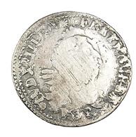 4 Sols - Aux 2 L Couronnés  -  Louis XIIII - France - > 1691 G Surfrappe -- TB -  Argent - - 1643-1715 Louis XIV Le Grand