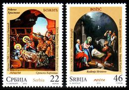 Serbia, 2012, Christmas 2012 , Set, MNH, Mi# 481/82 - Serbie