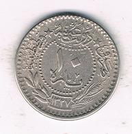 10 PARA  AH 1327  TURKIJE /1014/ - Turquie