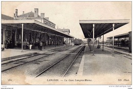 LANGRES La Gare Langres-Marne - Langres