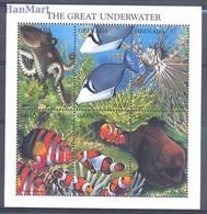 Grenada 1997 Mi 3439-3444 MNH ( ZS2 GRDark3439-3444 ) - Peces