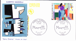 Frankreich France - Virgina; Gemälde Von Alberto Magnelli (MiNr: 2553) 1986 - FDC - FDC