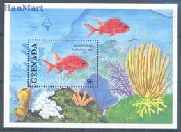 Grenada 1994 Mi Bl 376 MNH ( ZS2 GRDbl376 ) - Peces