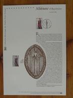 Document Officiel FDC 04-514 Alienor D'Aquitaine Moyen Age Medieval 49 Fontevraud L'Abbaye 2004 - Berühmt Frauen
