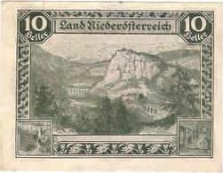 Österreich Austria Notgeld 10 HELLER FS671I NIEDEROSTERREICH /151M/ - Austria