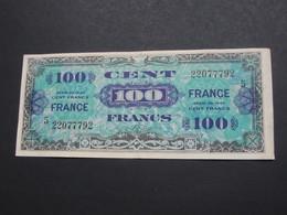 100 Francs - FRANCE - Série 5 - Billet Du Débarquement - Série De 1944    **** EN ACHAT IMMEDIAT ****. - Schatkamer