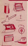 Facture 1967 / 38 JALLIEU / RAMBAUD & DURAND /Télé Radio Appareils Ménagers Fers à Repasser Aspirateur Lampe PHILIPS - 1950 - ...