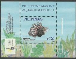 Philippines 1996 Mi Bl 95 MNH ( ZS8 PLPbl95 ) - Peces