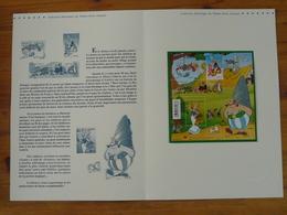 Document Officiel FDC 09-580 Bloc Astérix Journée Du Timbre 2009 - Stripsverhalen