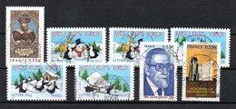 B387-6 France N° 3852 à 3860 Avec Oblitérations Rondes - Used Stamps