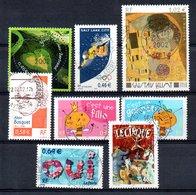 B387-7 France N° 3459 à 3466 Avec Oblitérations Rondes - Used Stamps