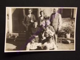 Carte Photo Genealogie Famille Maurel Et Monier Et Marquez à La Salvetat 1930 - Généalogie